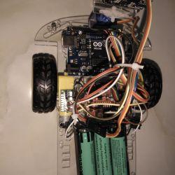 Robot 2 trong 1 tự động và điều khiển bằng tay