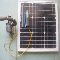 Bộ bơm nước năng lượng mặt trời 30W