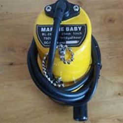 Bơm chìm 12V, 60W dùng aquy hoặc NLMT