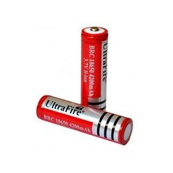 PIN UltraFire 3.7v 4.2a